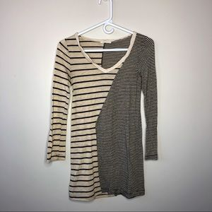 Just Ginger Striped Dress (Small)